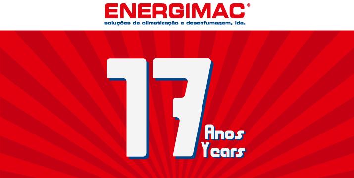 A ENERGIMAC celebra hoje o seu 17.º Aniversário - Energimac
